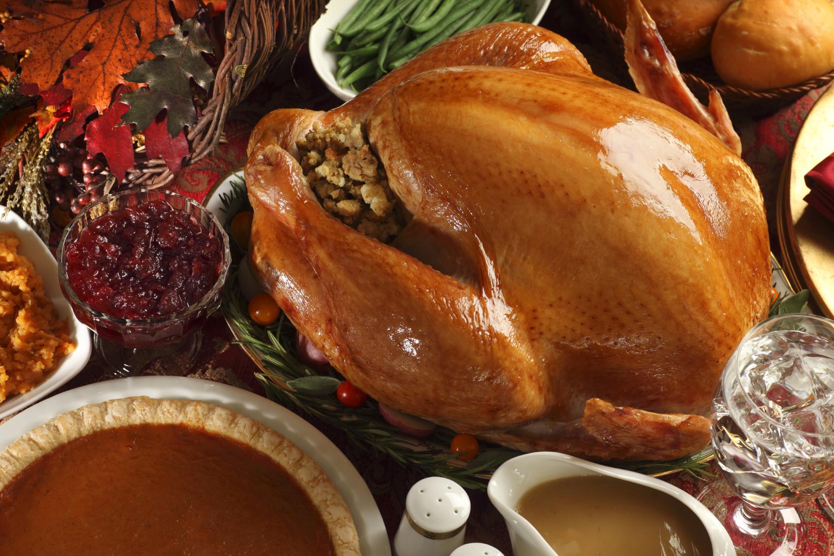Turkey Thanksgiving Dinner  Thanksgiving