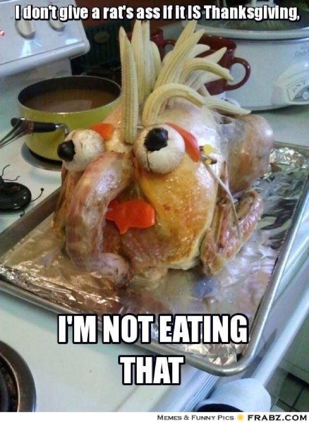 Turkey Thanksgiving Meme  Turkey Tight End