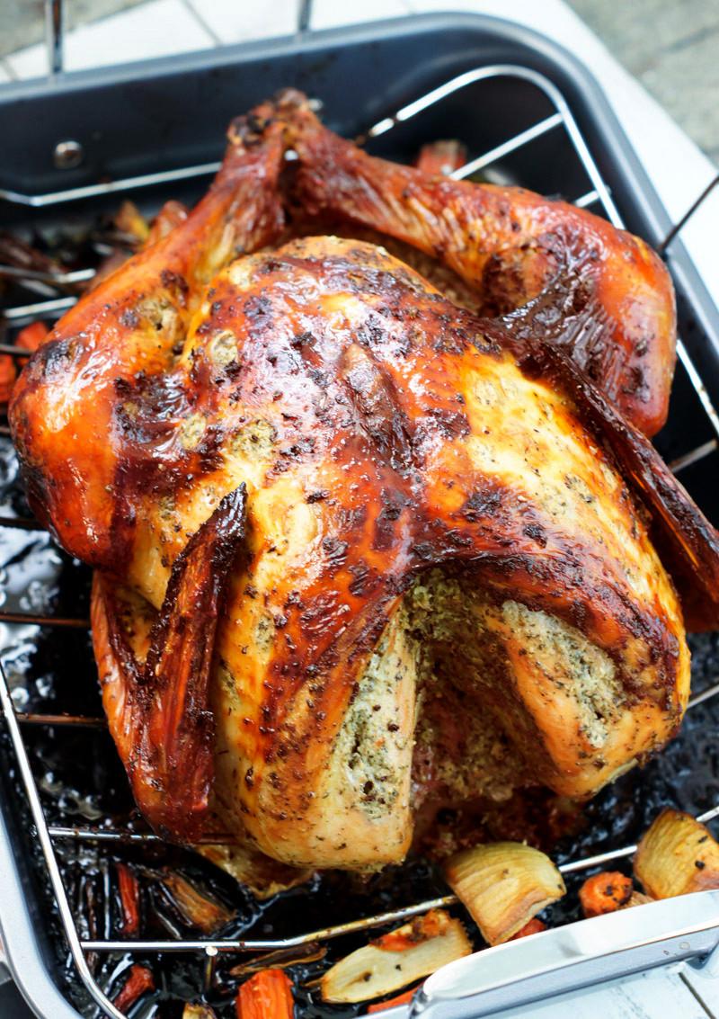 Turkey Thanksgiving Recipe  Latin Style Turkey Recipe