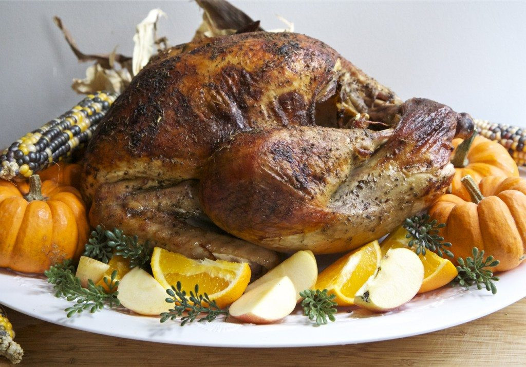 Turkey Thanksgiving Recipe  Easy & Juicy Whole Roasted Turkey Recipe Brined
