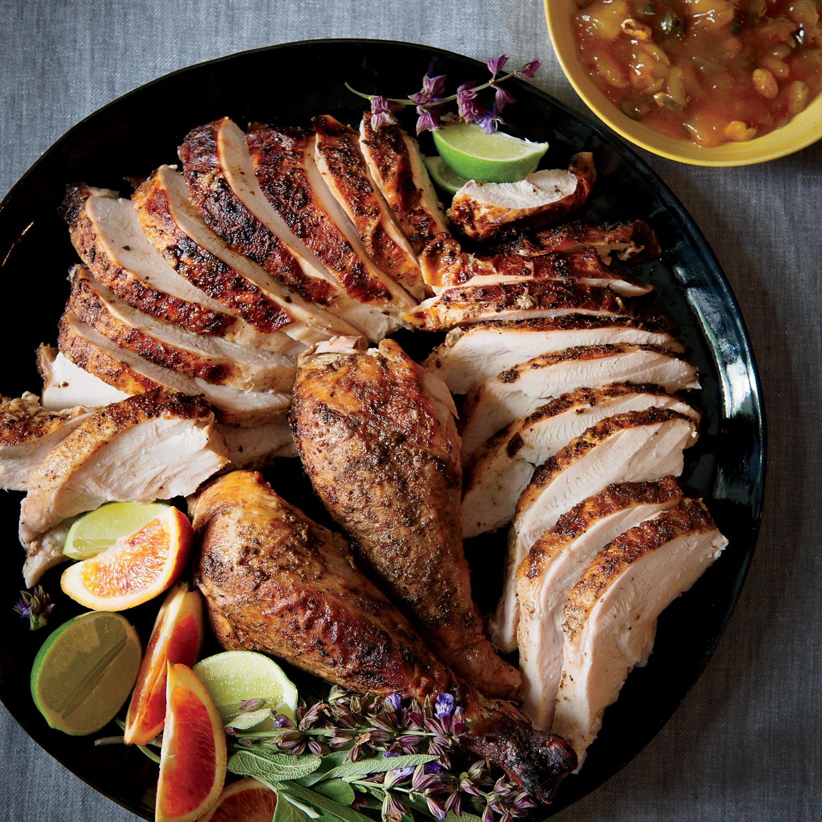 Turkey Thanksgiving Recipe  Moroccan Spiced Turkey Recipe Marcus Samuelsson