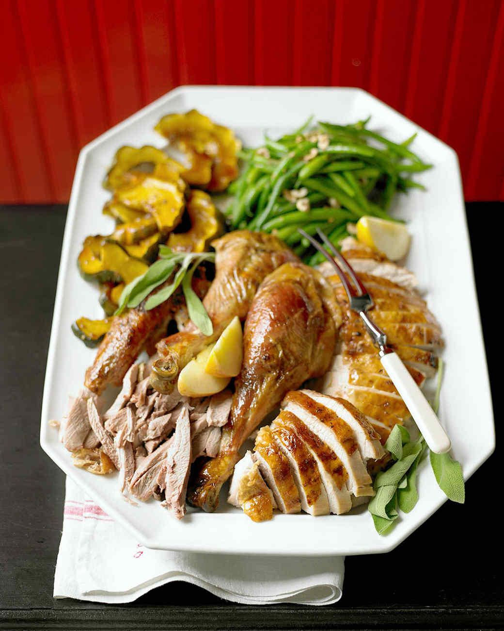 Turkey Thanksgiving Recipe  Maple Glazed Turkey Recipe