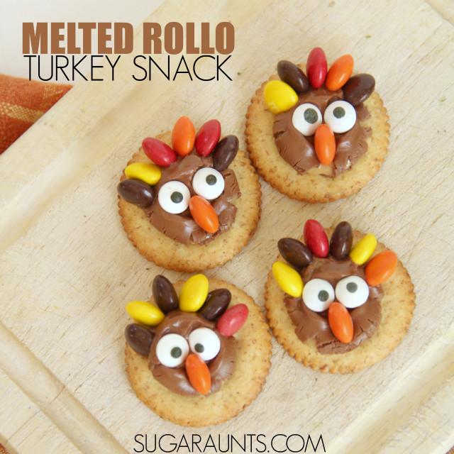 Turkey Treats For Thanksgiving  Super Cute Turkey Treats