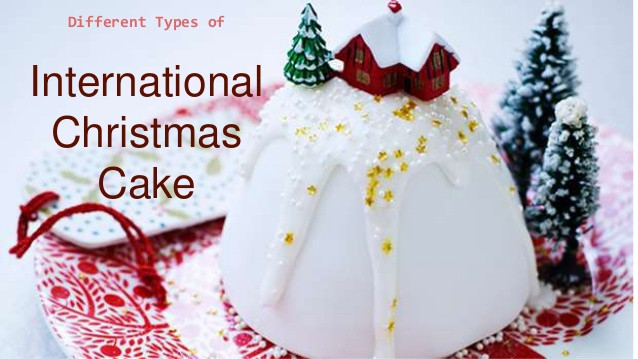 Types Of Christmas Cakes  Different Types International Christmas Cake
