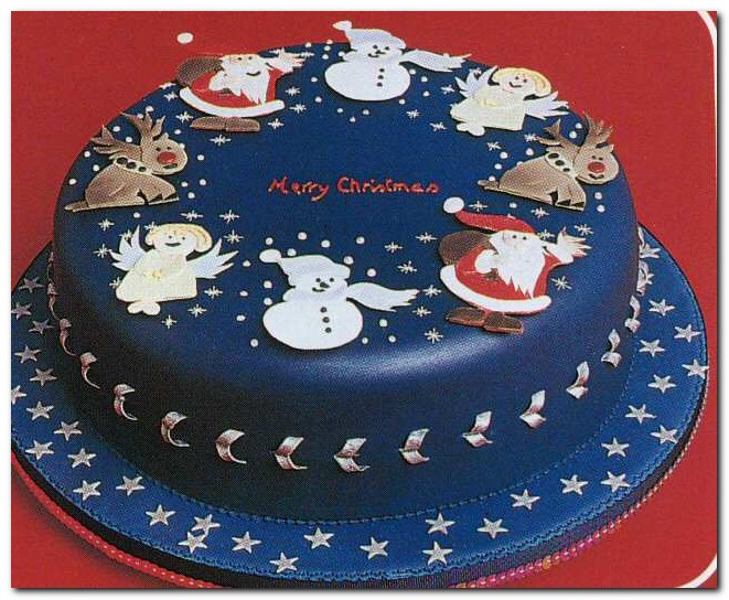 Types Of Christmas Cakes  All About Fashion Latest Varieties Cristmas Cakes