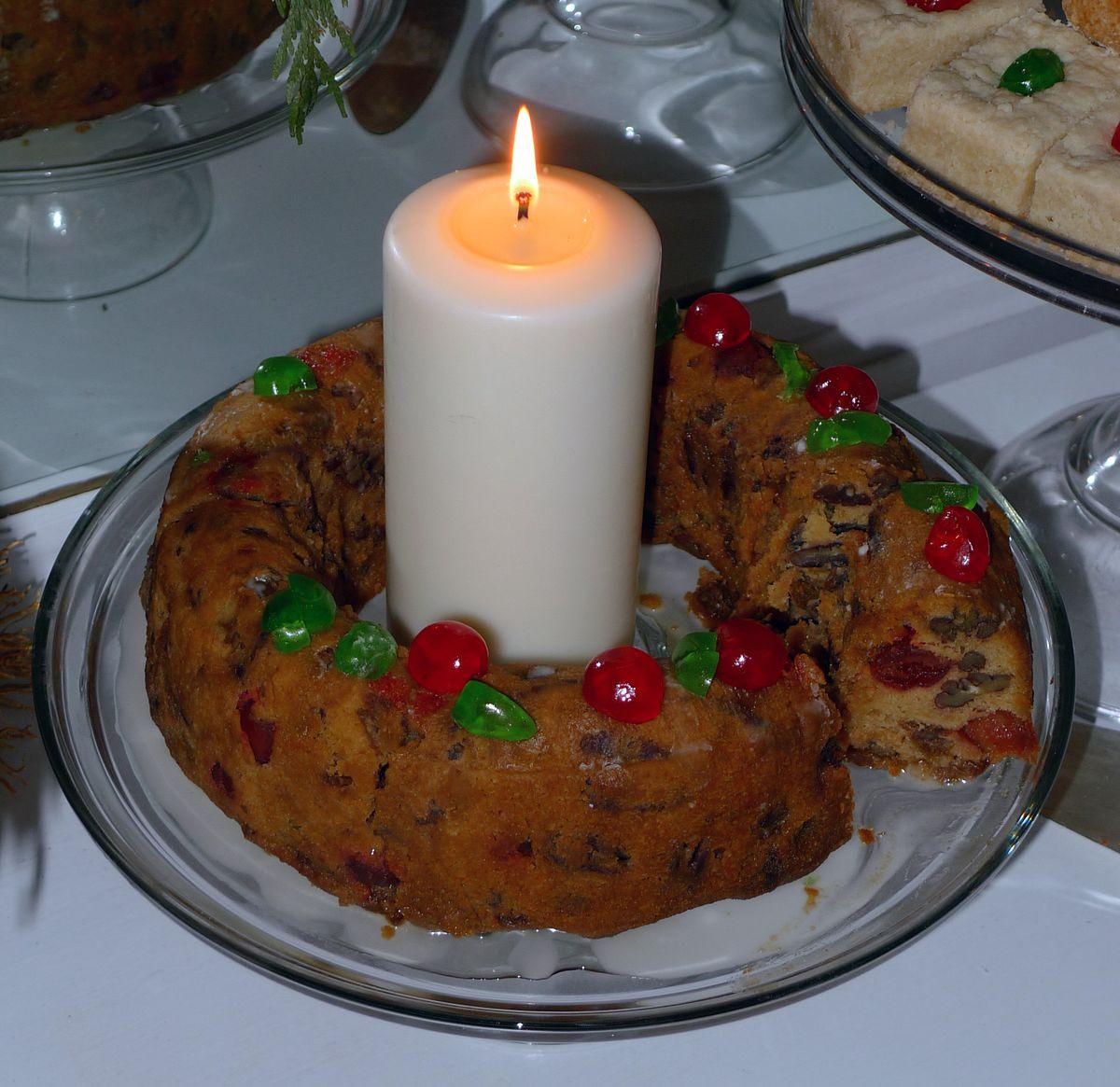 Types Of Christmas Cakes  Fruitcake