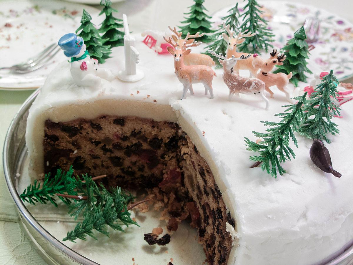 Types Of Christmas Cakes  Christmas cake