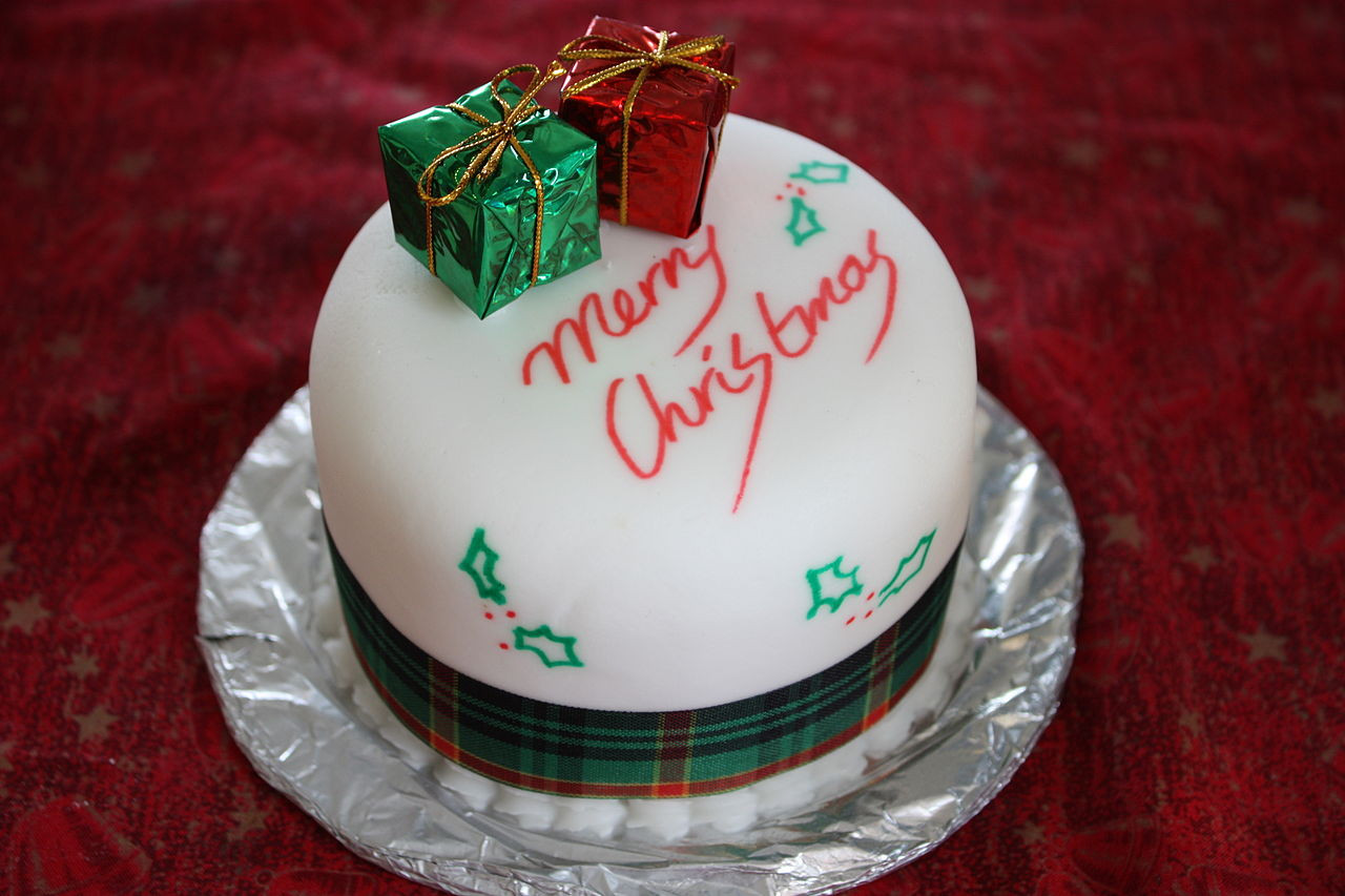 Types Of Christmas Cakes  File Christmas cake Boxing Day 2008