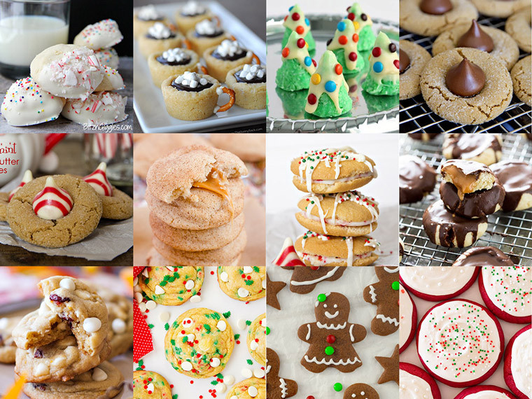 Types Of Christmas Cookies  50 Festive Christmas Cookie Recipes