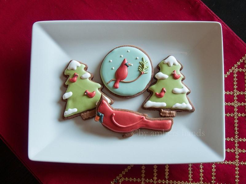 Types Of Christmas Cookies  Cardinal Christmas Cookies Three Types of Cookie
