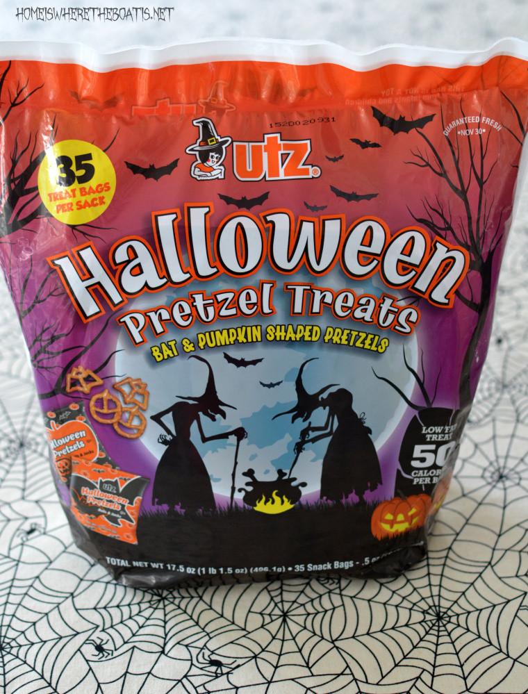 Utz Halloween Pretzels  Easy Witch's Potion Popcorn No Cauldron Required – Home