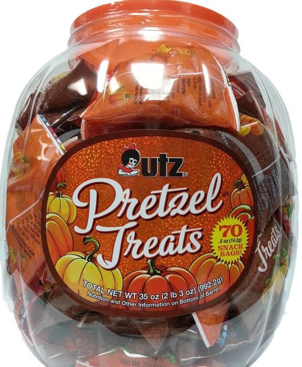 Utz Halloween Pretzels  7 Goo s You Can Hand Out to Trick or Treaters on