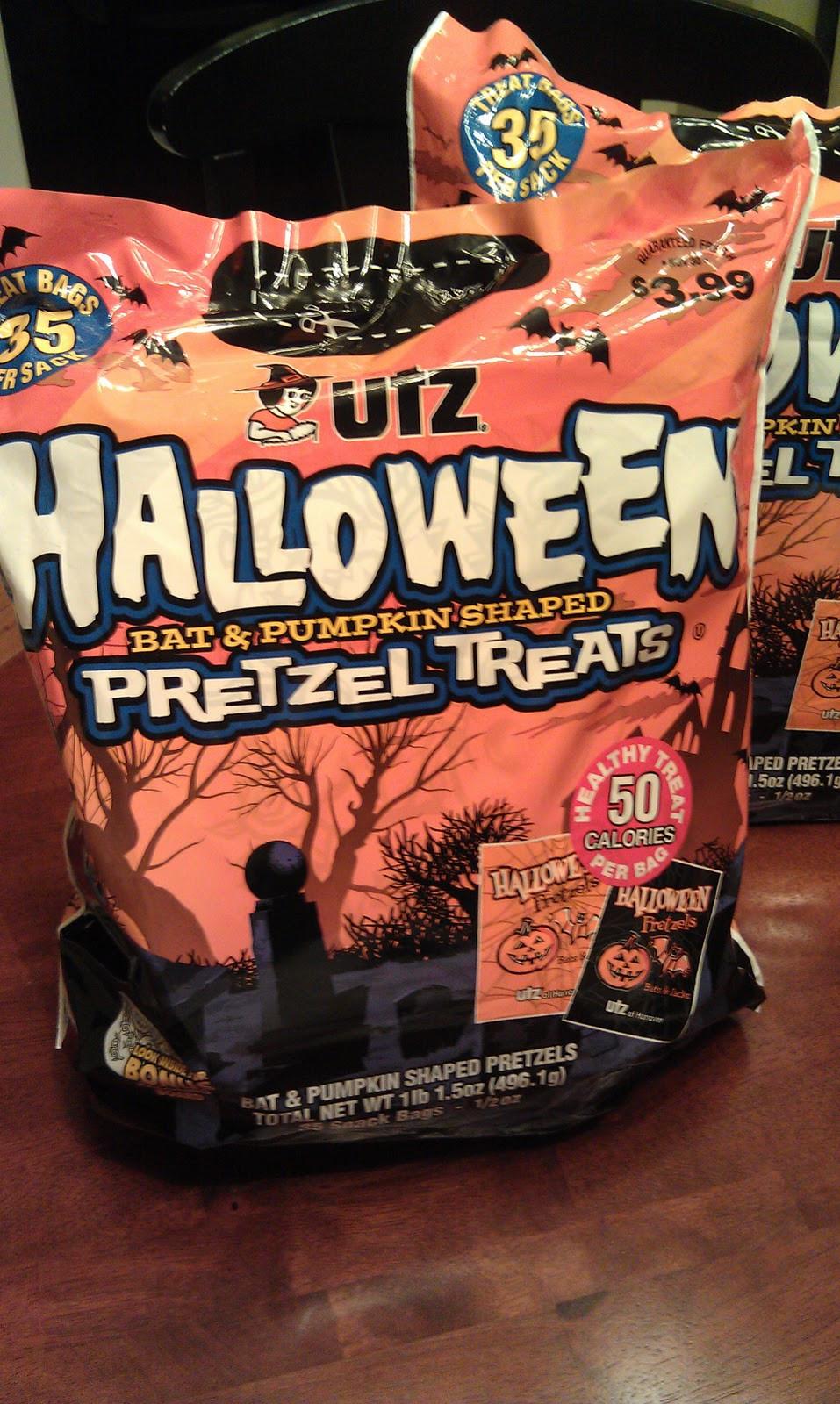 Utz Halloween Pretzels  Peanut Allergy Free Here We e Allergy Friendly