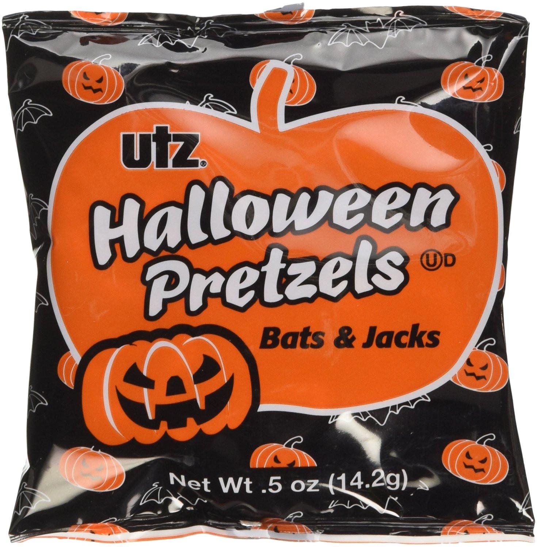 Utz Halloween Pretzels  20 savory Halloween treats we like even better than all