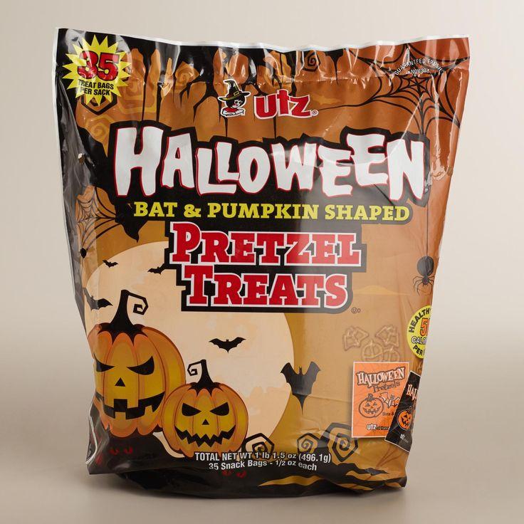 Utz Halloween Pretzels  64 best Halloween Basket images on Pinterest