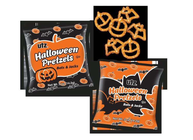 Utz Halloween Pretzels  Halloween treats that aren't too horrific for your kids