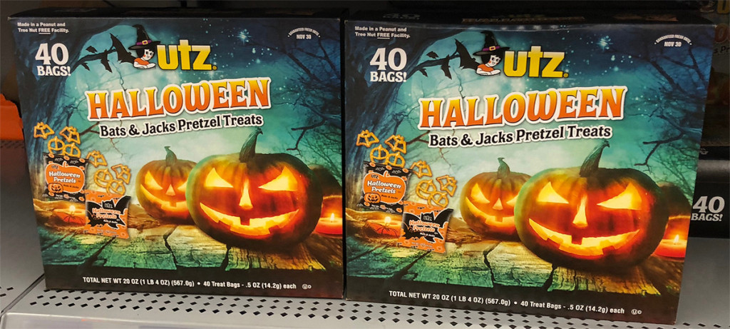 Utz Halloween Pretzels  f Halloween Clearance at Walmart Including Candy