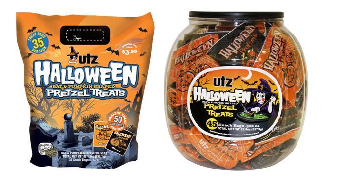 Utz Halloween Pretzels  It ly Hurts When I Blog August 2011