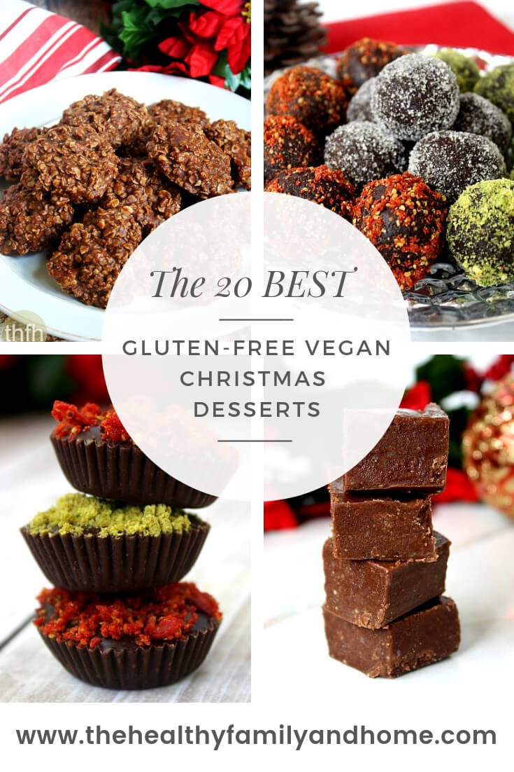 Vegan Christmas Desserts Recipe  Healthy Gluten Free Vegan Christmas Desserts