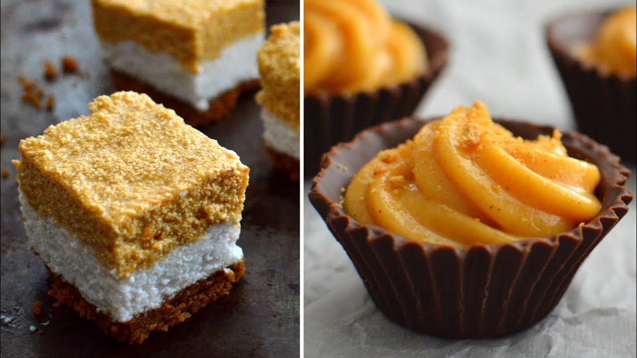 Vegan Fall Desserts  3 Vegan Fall Desserts No Bake Holiday