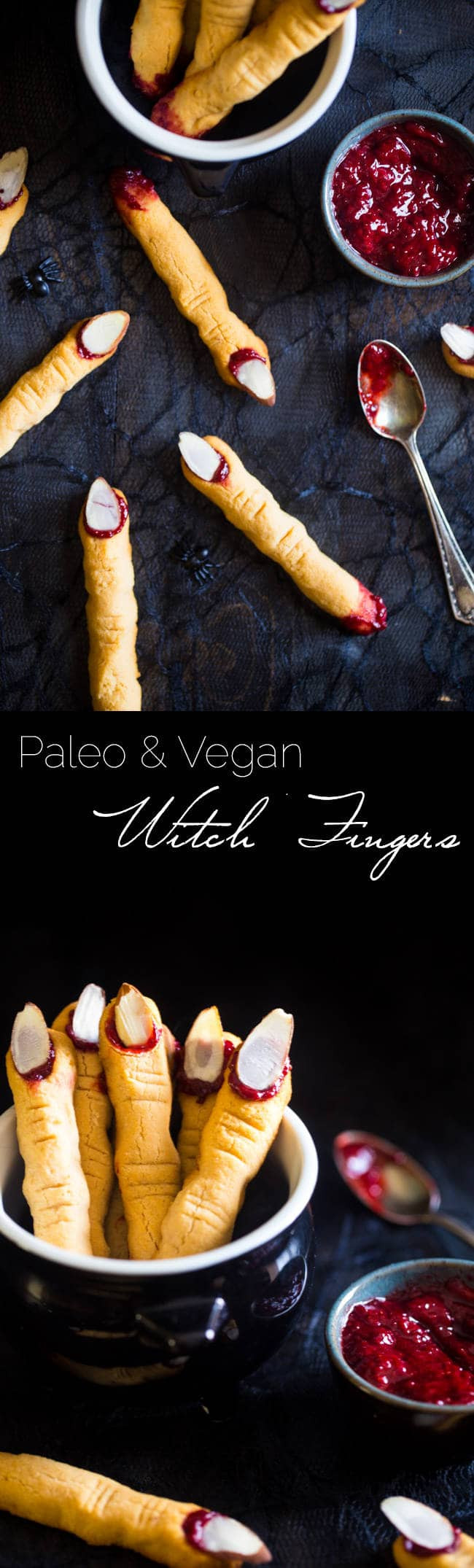 Vegan Halloween Cookies  Paleo Witch Finger Cookies Vegan