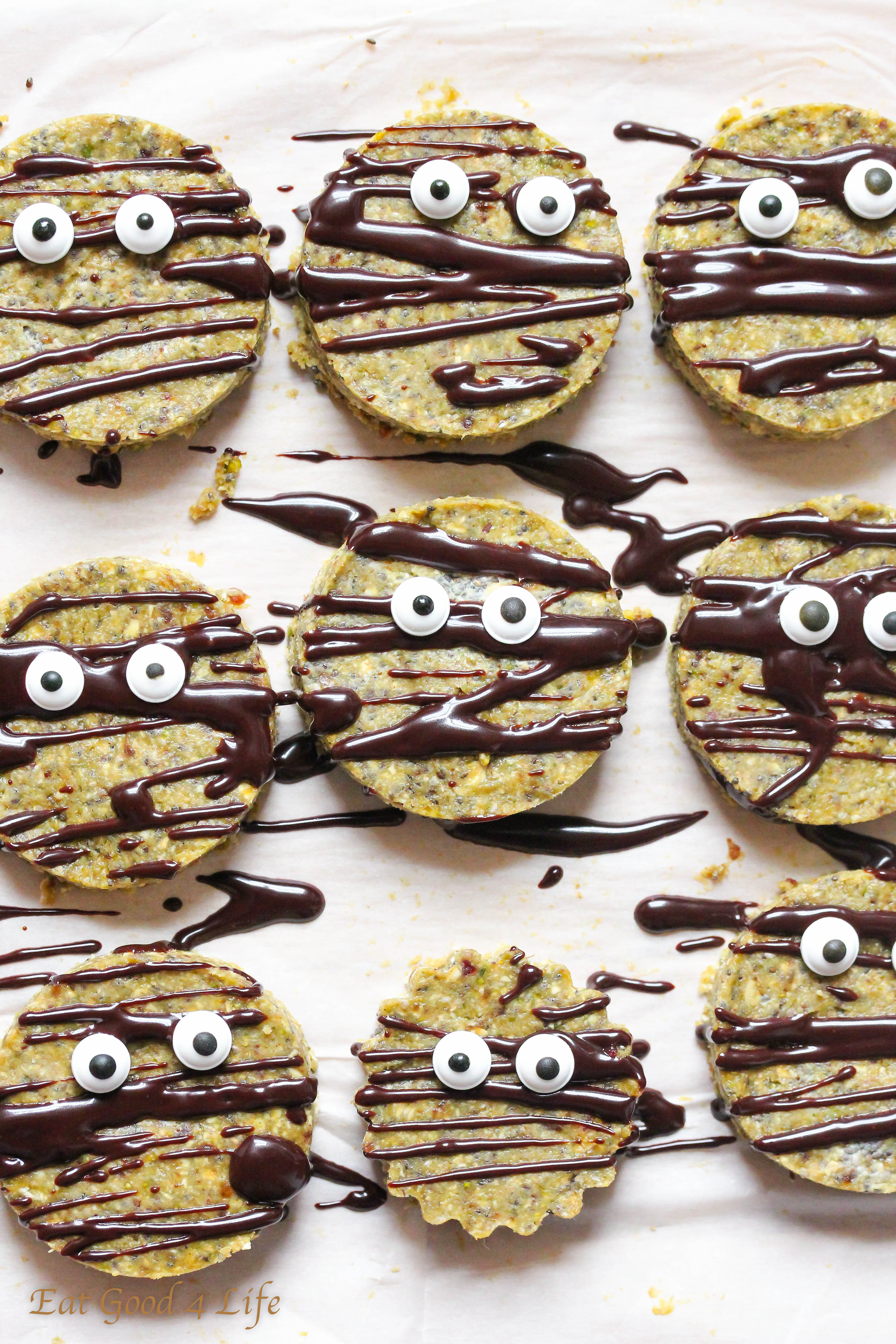Vegan Halloween Cookies  raw halloween cookies vegan gluten free