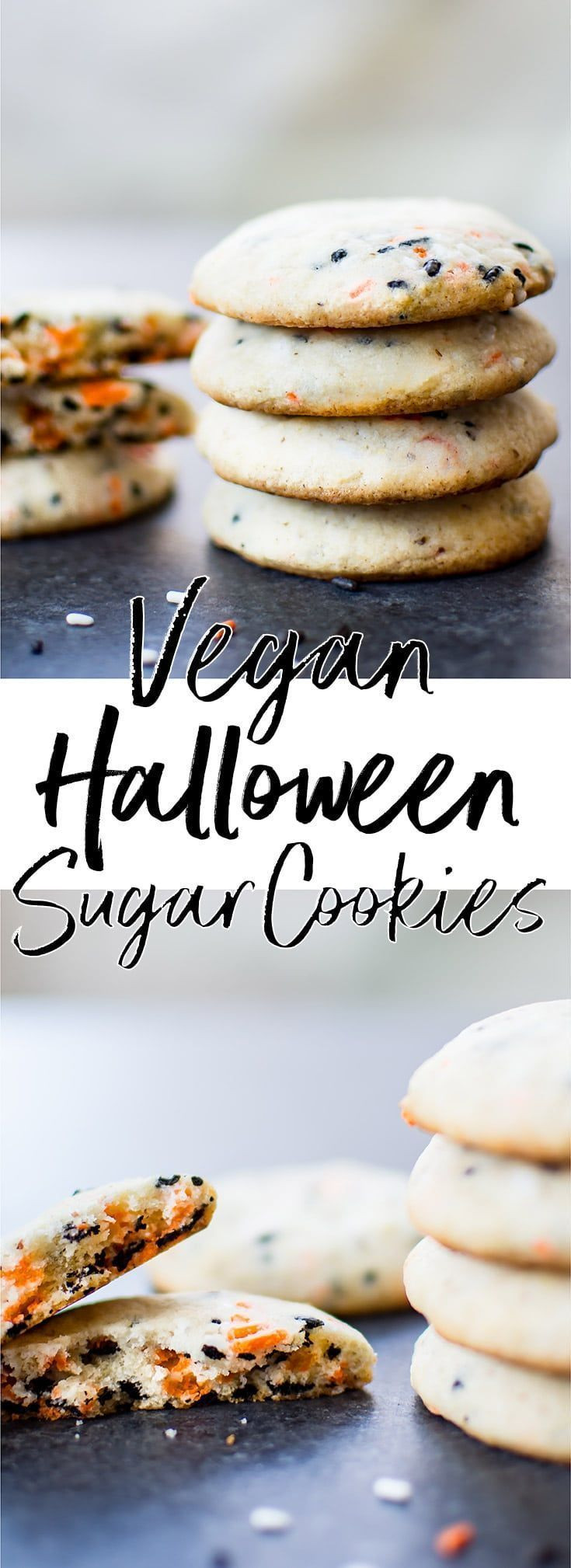 Vegan Halloween Cookies  Vegan Halloween Cookies Recipe