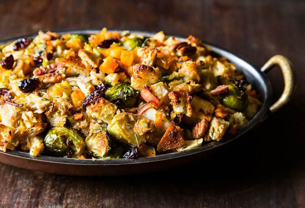 Vegan Stuffing Recipes For Thanksgiving  20 Delectable Ve arian Dinner Recipes Ideas Easyday