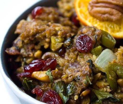 Vegan Stuffing Recipes For Thanksgiving  Vegan Thanksgiving Menu Ideas Cornucopia of Recipes
