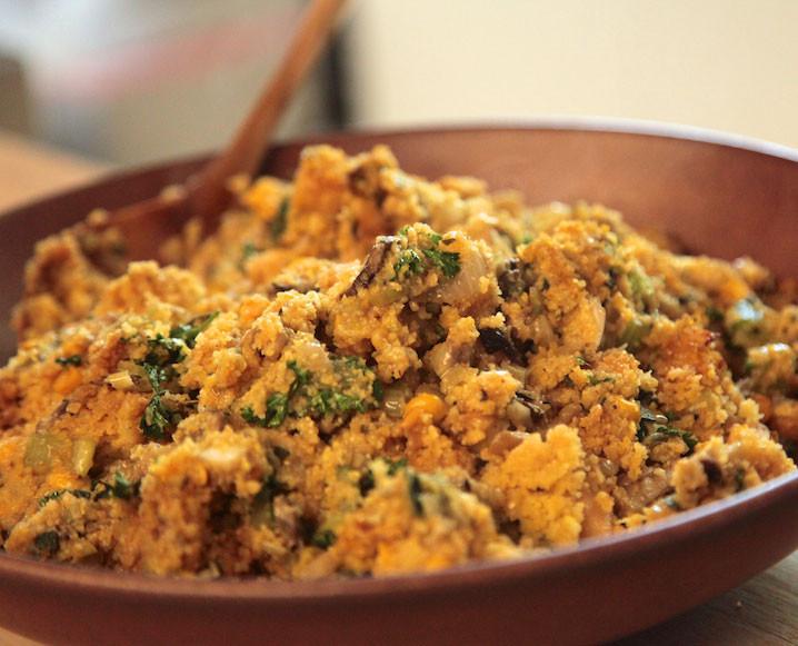 Vegan Stuffing Recipes Thanksgiving  Vegan Ve arian Thanksgiving Recipes Vegan Cornbread