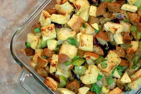 Vegan Stuffing Recipes Thanksgiving  Vegan Thanksgiving recipes Vegan stuffing CSMonitor