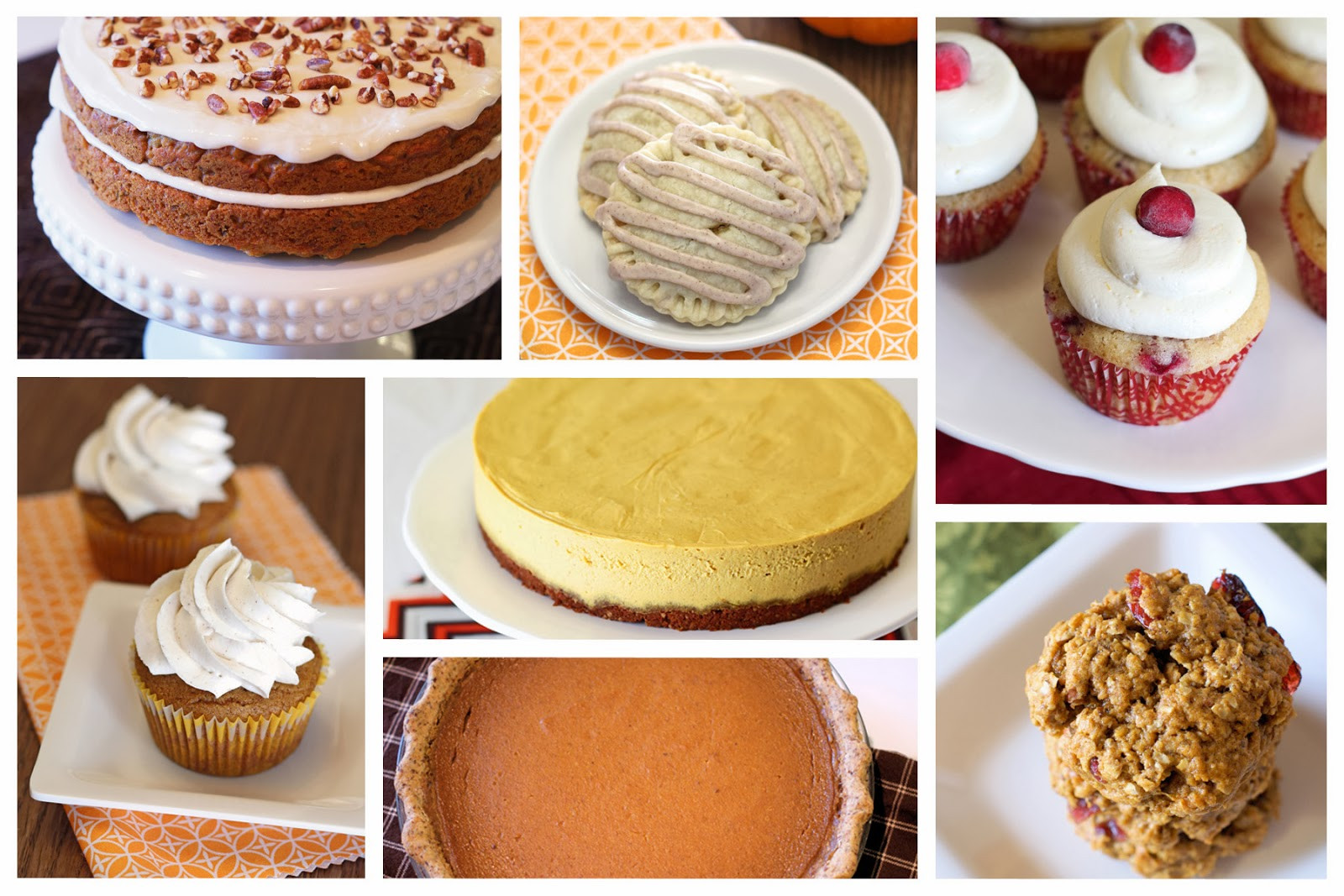 Vegan Thanksgiving Dessert  gluten free vegan thanksgiving desserts Sarah Bakes