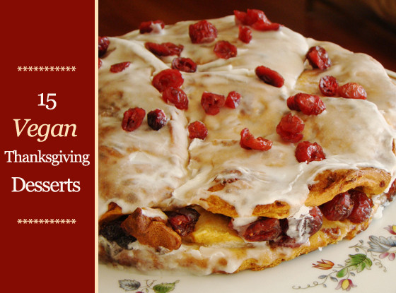 Vegan Thanksgiving Dessert  15 Vegan Thanksgiving Desserts Plus Toppings