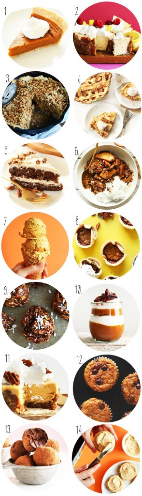 Vegan Thanksgiving Dessert  Vegan Thanksgiving Recipes