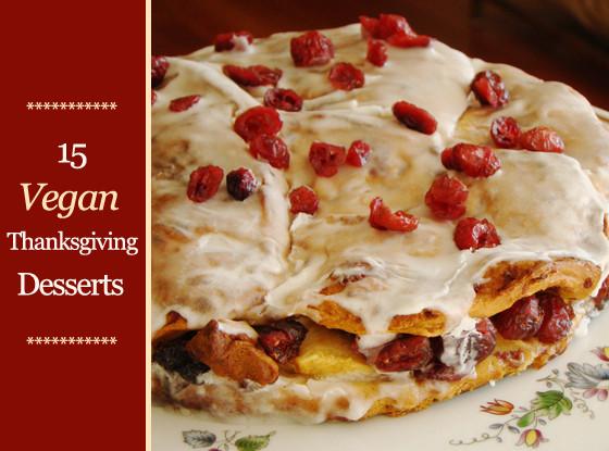 Vegan Thanksgiving Dessert Recipes  15 Vegan Thanksgiving Desserts Plus Toppings