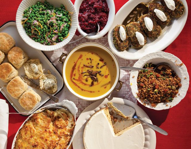 Vegan Thanksgiving Menu  Menu A Ve arian Thanksgiving