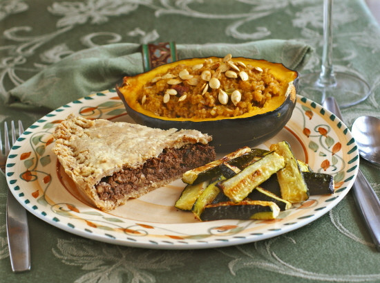 Vegan Thanksgiving Pie  I Am Thankful for Vegan Tortiere Meat Pie Gluten