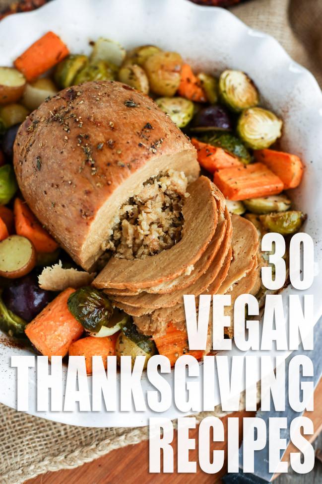 Vegan Thanksgiving Recipe  Vegan Thanksgiving Recipe Roundup I LOVE VEGAN