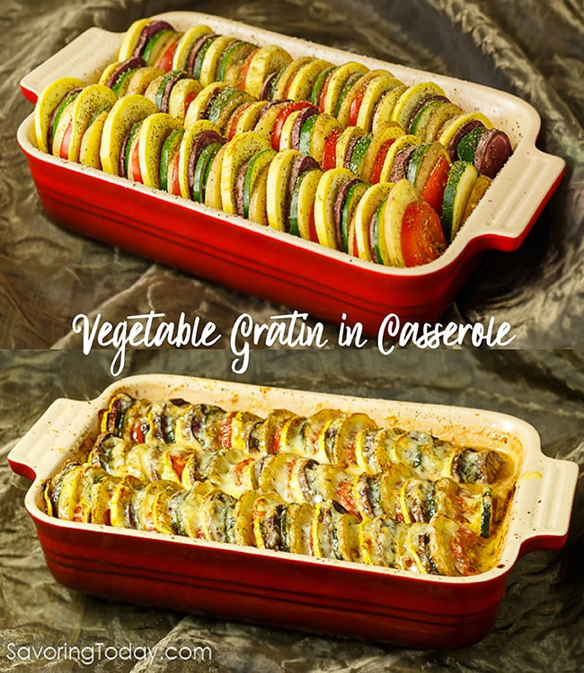 Vegetable Side Dishes For Christmas Dinner  Ve able Tian Classic Gratin fort for Healthy Holiday