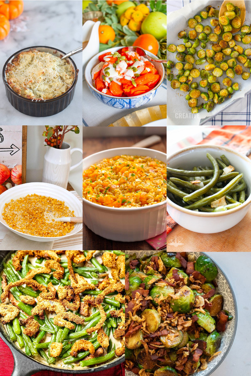 Vegetable Side Dishes For Christmas Dinner  Holiday Dinner Side Dishes
