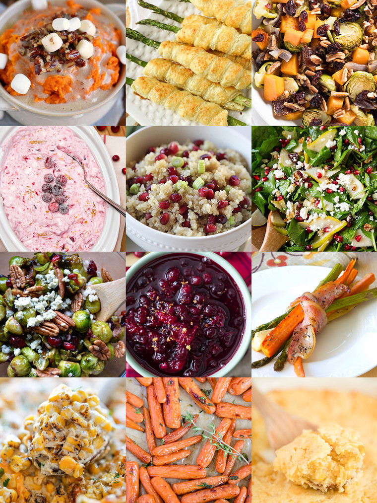 Vegetable Side Dishes For Christmas Dinner  35 Side Dishes for Christmas Dinner Yellow Bliss Road