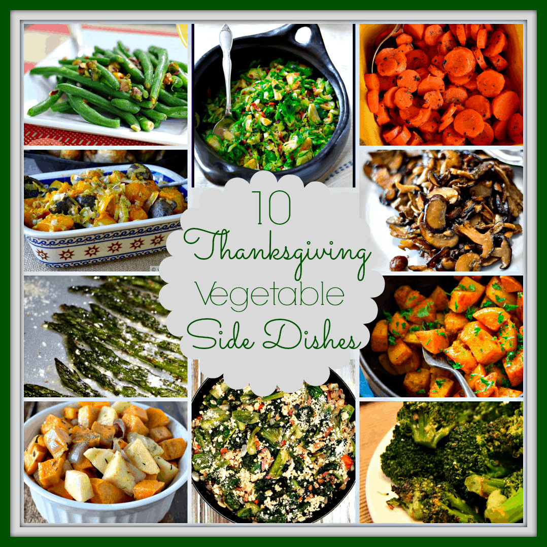 Vegetable Side Dishes For Christmas Dinner  10 Ve able Side Dishes for Thanksgiving Upstate Ramblings