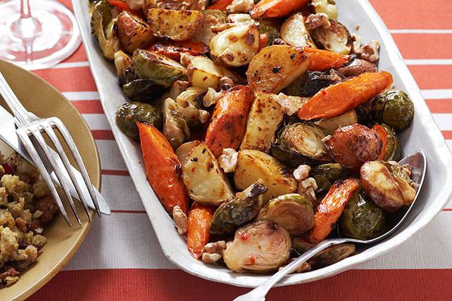 Vegetable Side Dishes For Christmas Dinner  Roasted Winter Ve able Trio Kraft Recipes