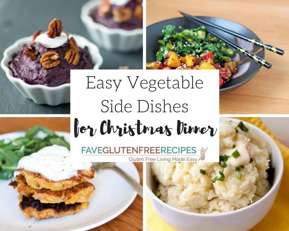 Vegetable Side Dishes For Christmas Dinner  13 Easy Ve able Side Dishes for Christmas Dinner