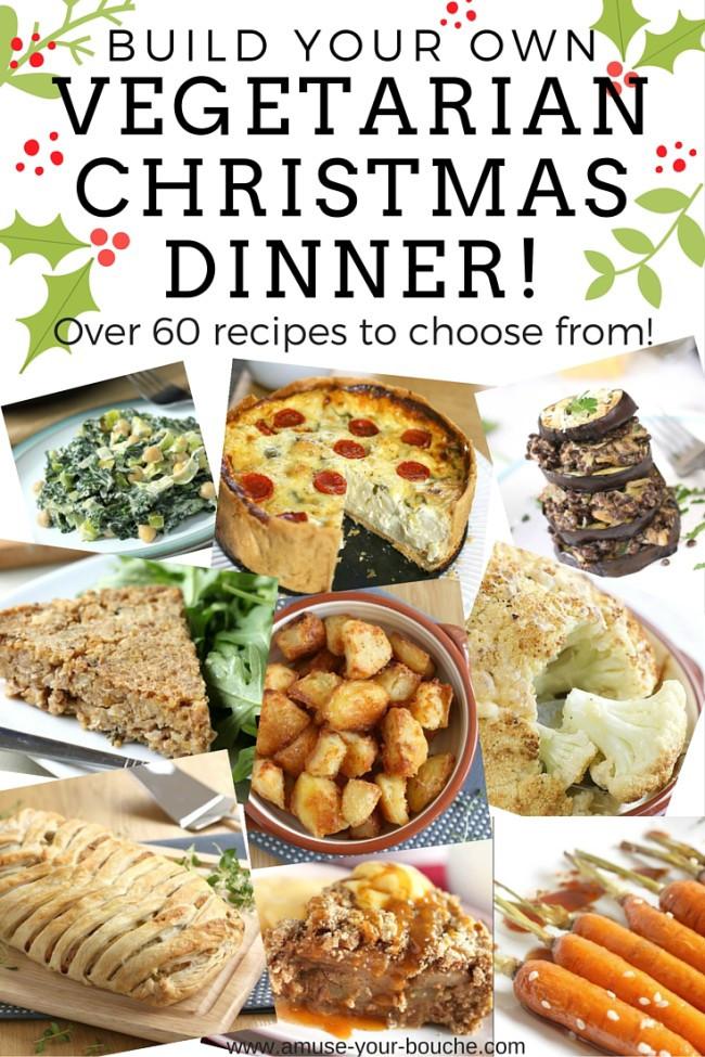 Vegetarian Christmas Dinner Menu  Build your own ve arian Christmas dinner Amuse Your