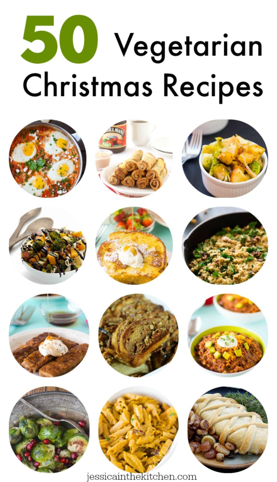 Vegetarian Christmas Dinner Menu  Best 25 Ve arian christmas recipes ideas on Pinterest