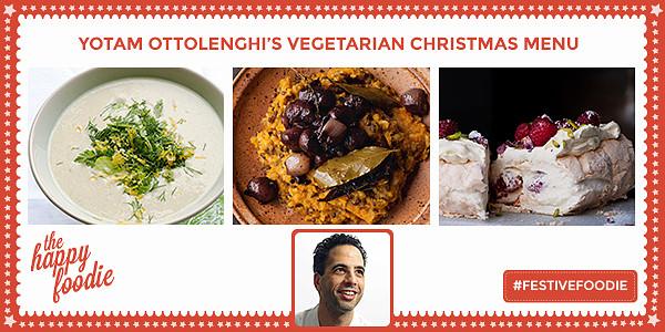 Vegetarian Christmas Dinner Menu  Yotam Ottolenghi s Ve arian Christmas Menu The Happy