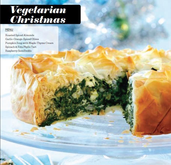 Vegetarian Christmas Dinner Menu  A ve arian Christmas dinner menu Chatelaine