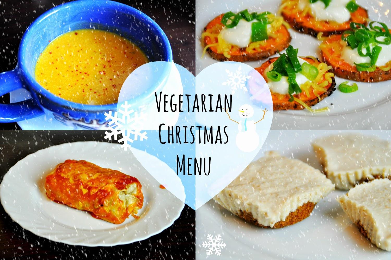 Vegetarian Christmas Dinner Menu  Ve arian Christmas Menu