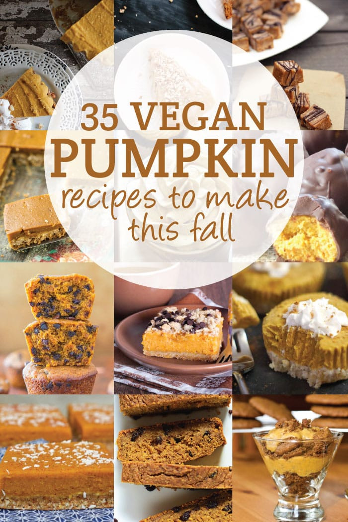 Vegetarian Fall Recipes  30 Vegan Pumpkin Recipes to Try This Fall